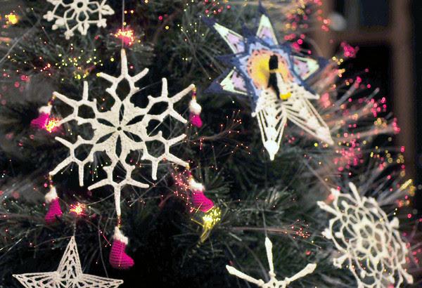 Christmas Stocking Snowflake