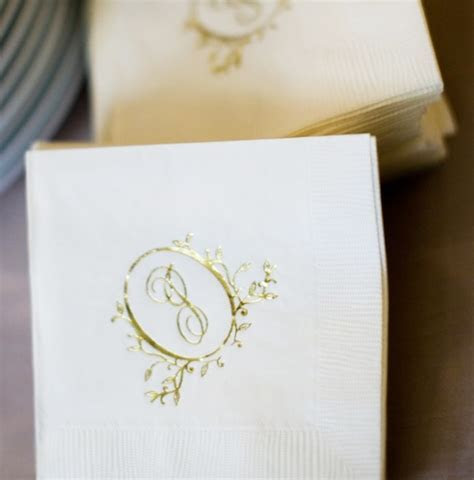 Design Options for Wedding Napkins: From Embossed and