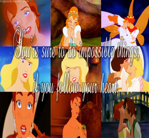 Non Disney Princess - Childhood Animated Movie Heroines ...