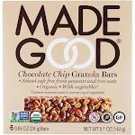 Made Good Organic Granola Bars Chocolate Chip 6 Bars