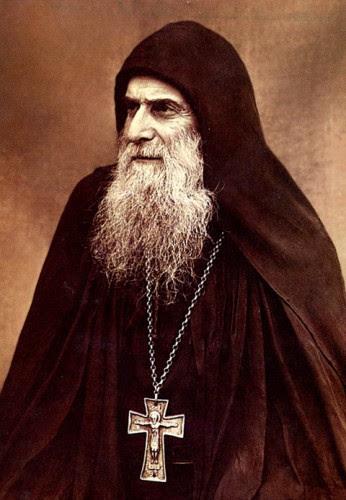 Άγιος Γέροντας Γαβριὴλ ὁ διὰ Χριστὸν σαλὸς