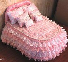 как сделать кровать для барби