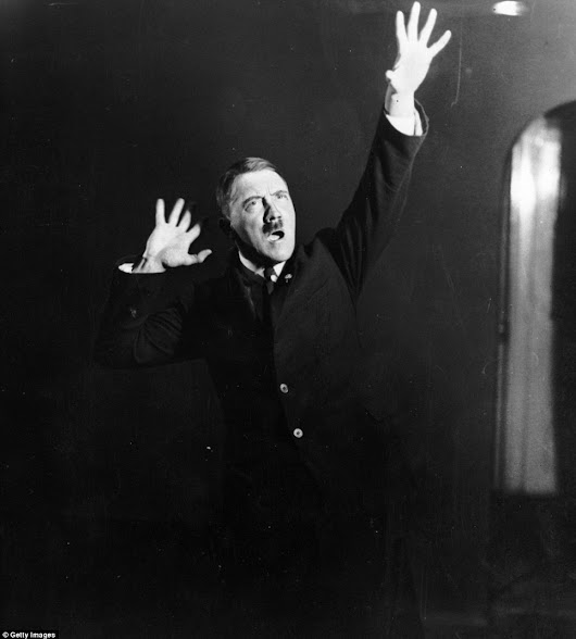 HITLER JAZZ-HANDS!