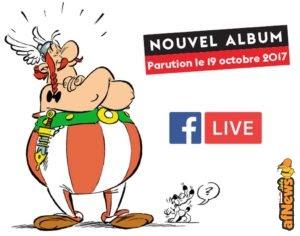 Asterix svela in diretta live il nuovo albo!