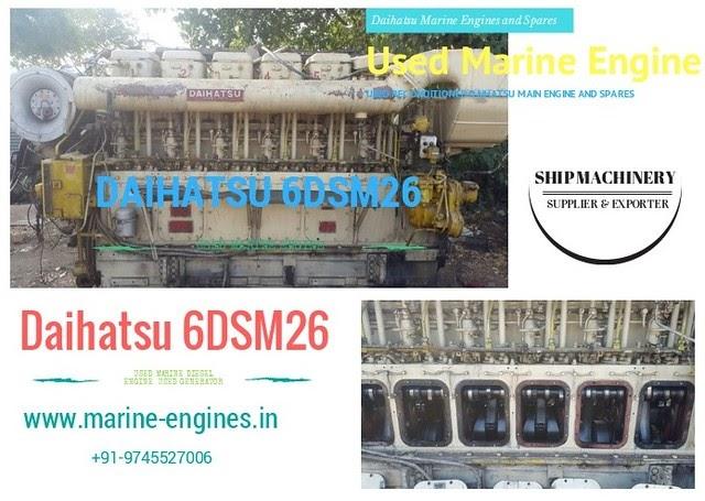 Daihatsu 6DSM26 Marine Engine for Sale