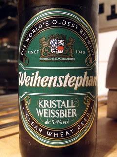 Weihenstephan, Kristall Weissbier, Germany
