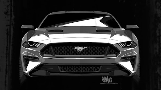 Darth Vader inspired the 2018 Mustang, Ford designer says