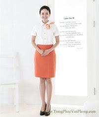 đồng phục nhân viên nữ