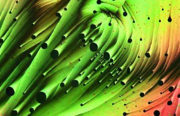 Resolsinol, metilen ve sülfürün karışımı