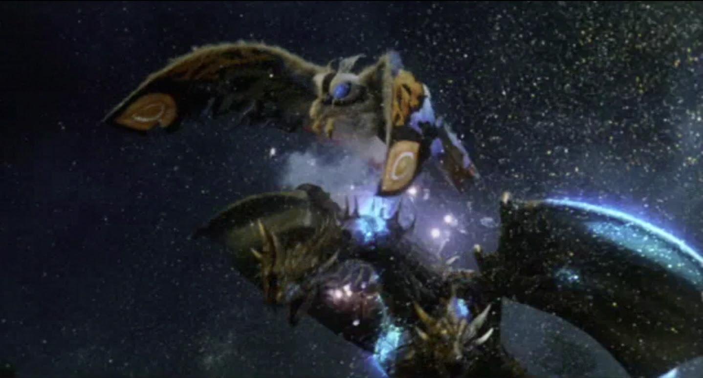 Mothra vs Cretacious Ghidorah!