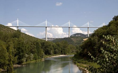 Image Viaduct Millau, Copyright © Tony Hisgett