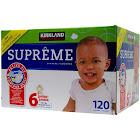 Kirkland Signature Diapers, Size 6 - 120 diapers