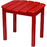 International Concepts T-92248 Adirondack SideTable, Red