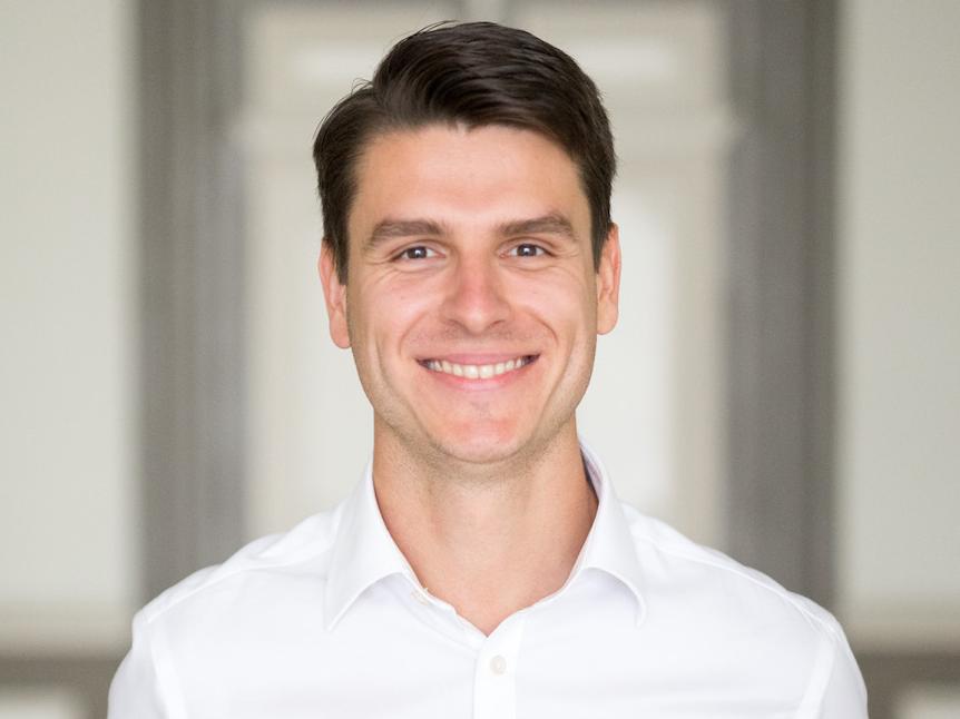 TransferGo's CEO and founder Daumantas Dvilinskas.
