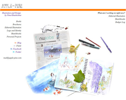 July 2011: New Web-Site by apple-pine
