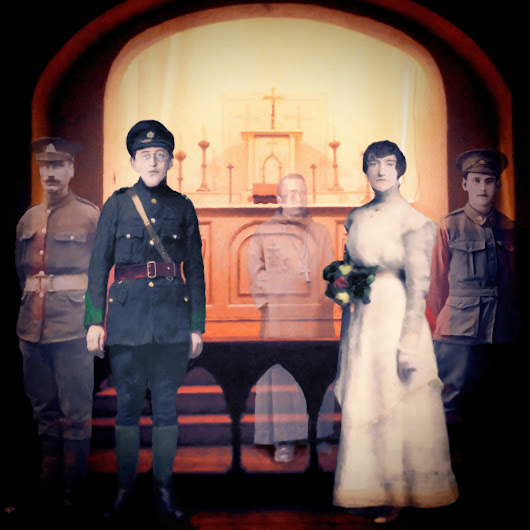 1916 – Joseph Mary Plunkett and Grace Gifford get married in the chapel of Kilmainham Gaol the night before he is to be executed.