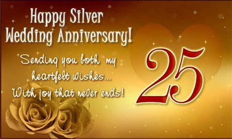 25th Anniversary Wishes   Wishes, Greetings, Pictures