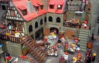 Pueblo medieval de Playmobil