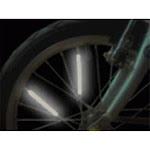 Gameday Bike Spoke Reflectors (Pack of 10)