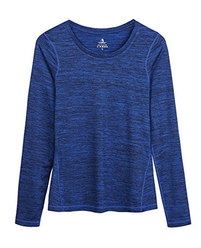 Review for icyZone Women\'s Workout Yoga Long Sleeve T-shirts with Thumb Holes (Royal Blue,... - Anita Truckenmiller - Blog Booster