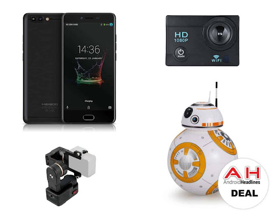 Sponsored Deal: Save On Phones, Gimbals, Action Cameras, & More | Androidheadlines.com