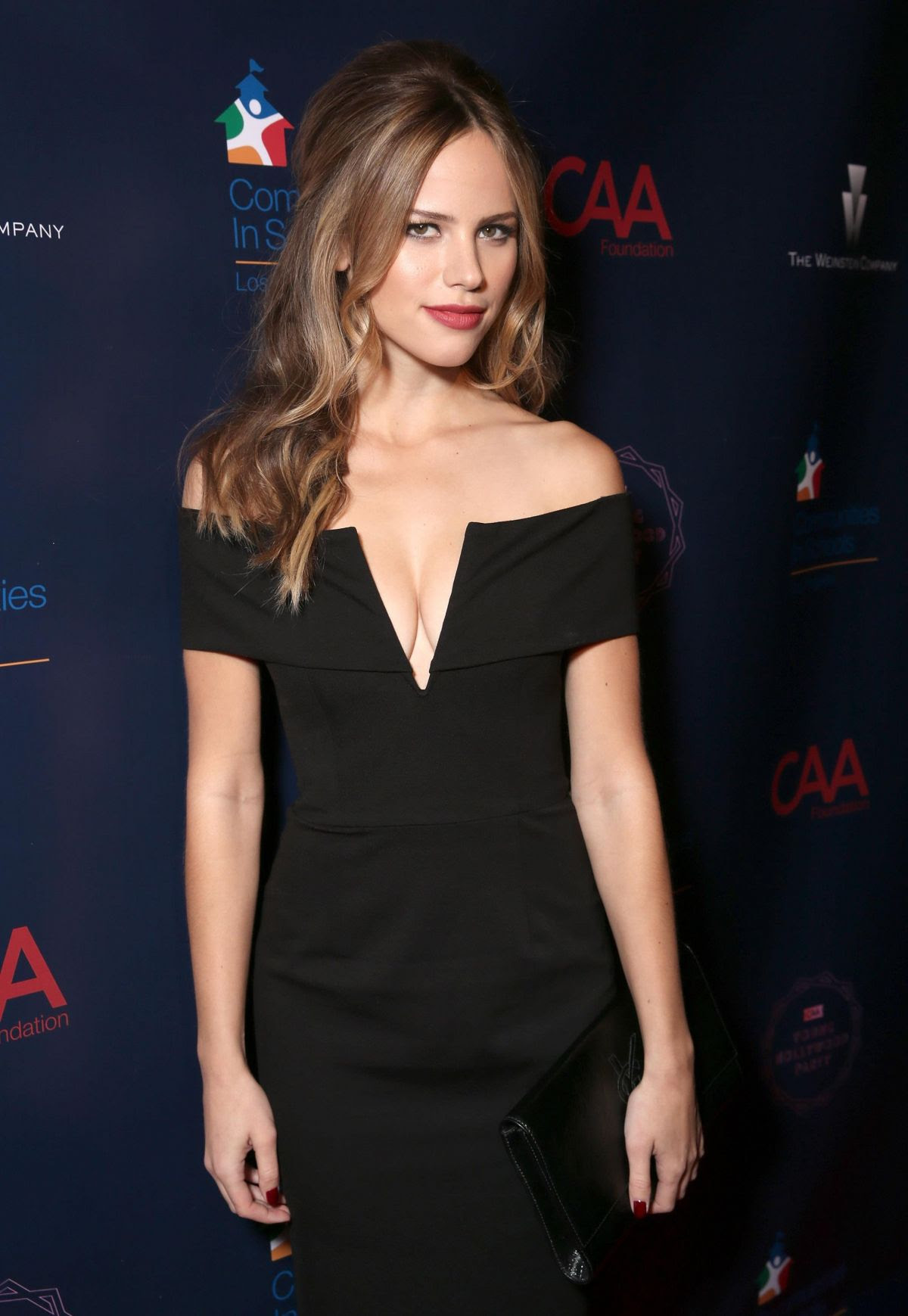 HALSTON SAGE at Annual CAA Young Hollywood Party in West Hollywood 10/08/2015