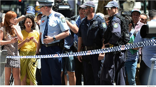 Uber fares soar during Sydney cafe siege