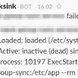 Error notifications for systemd timers