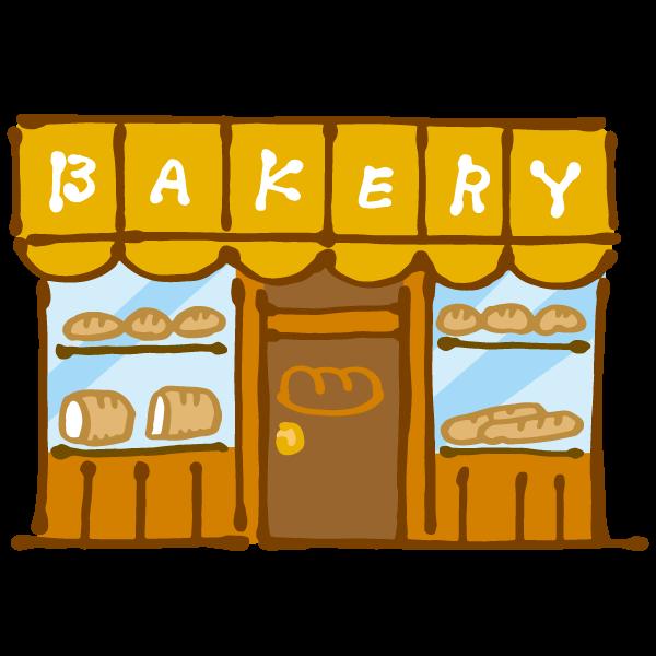パン屋のイラスト かわいいフリー素材が無料のイラストレイン