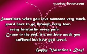 Sometimes When You Love Someone Very Muchyoud Have To Go Through