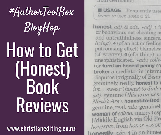 How to Get (Honest) Book Reviews (An #AuthorToolBoxBlogHop Post)