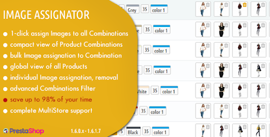 Download Image Assignator - Instantly Assign all Images to all Combinations in Prestashop nulled | OXO-NULLED