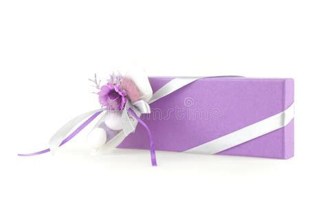 Wedding favor box stock image. Image of marriage, color
