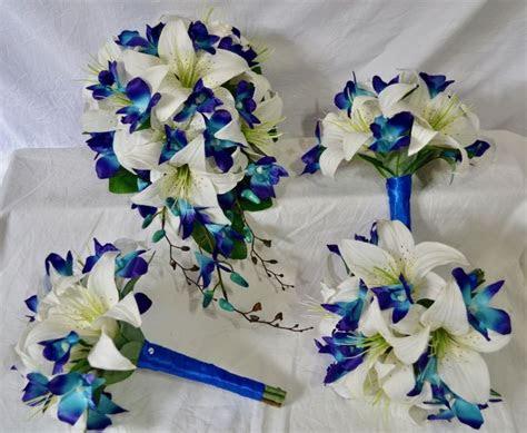 buy silk wedding flowers  wedding bouquets