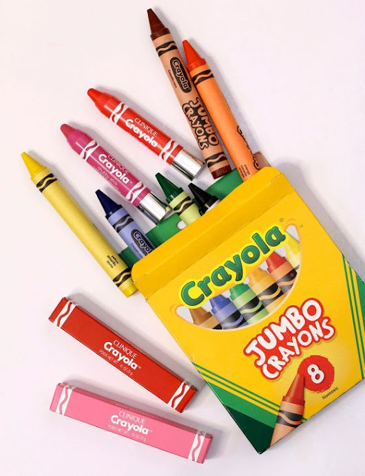 The Clinique Crayola Chubby Sticks for a Comfy, Pretty Pout
