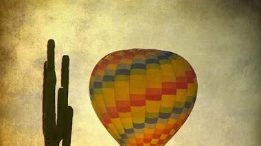 Paisajes desde un globo