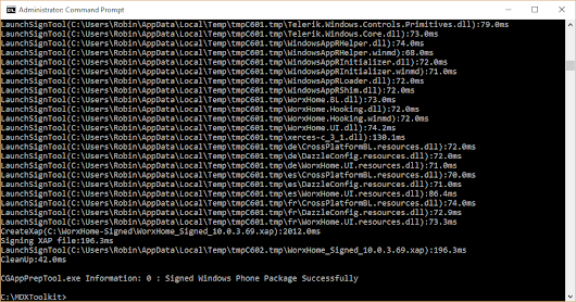 Wrapping and Deploying Windows Phone 8.1 Apps with Citrix XenMobile 10.x - RobinHobo.com