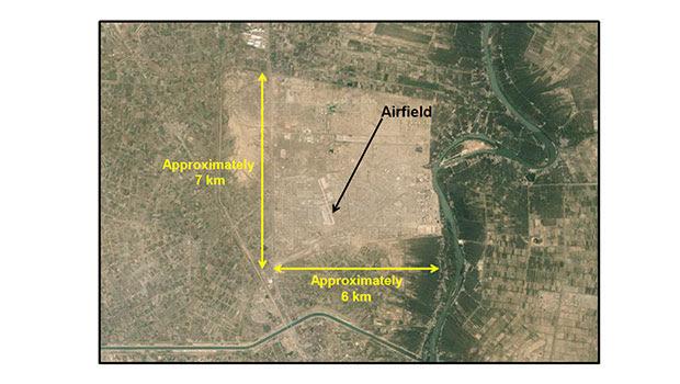 Taji area map. Photo / NZDF