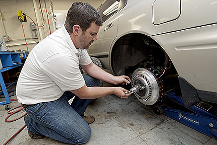 Wheel hub motor concept drives hybrid progress at MTSU