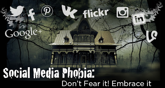 Social Media Phobia: Don't Fear it! Embrace it | Epstein Creative Group | Branding, Marketing, Graphic Design, Web Design, Logo Design | Rockville MD, Washington DC