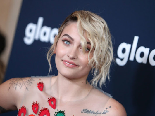Paris Jackson wants you to know that you don't have to be insecure about acne