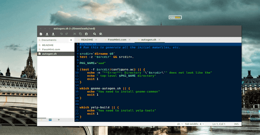 Xed Text Editor - A Replacement of Gedit and Pluma