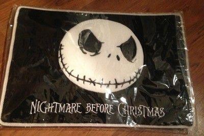 Nightmare Before Christmas Jack Skellington Floor Mat Rug | eBay