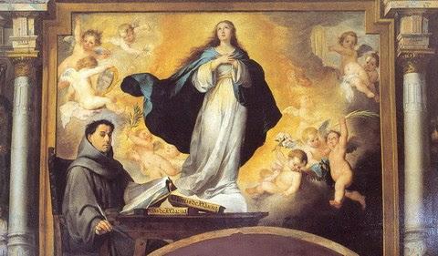Resultado de imagen de inmaculada concepcion el Palacio arzobispal de Sevilla,