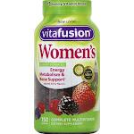 Vitafusion Women's Daily Multivitamin Gummies, Berry - 150 count