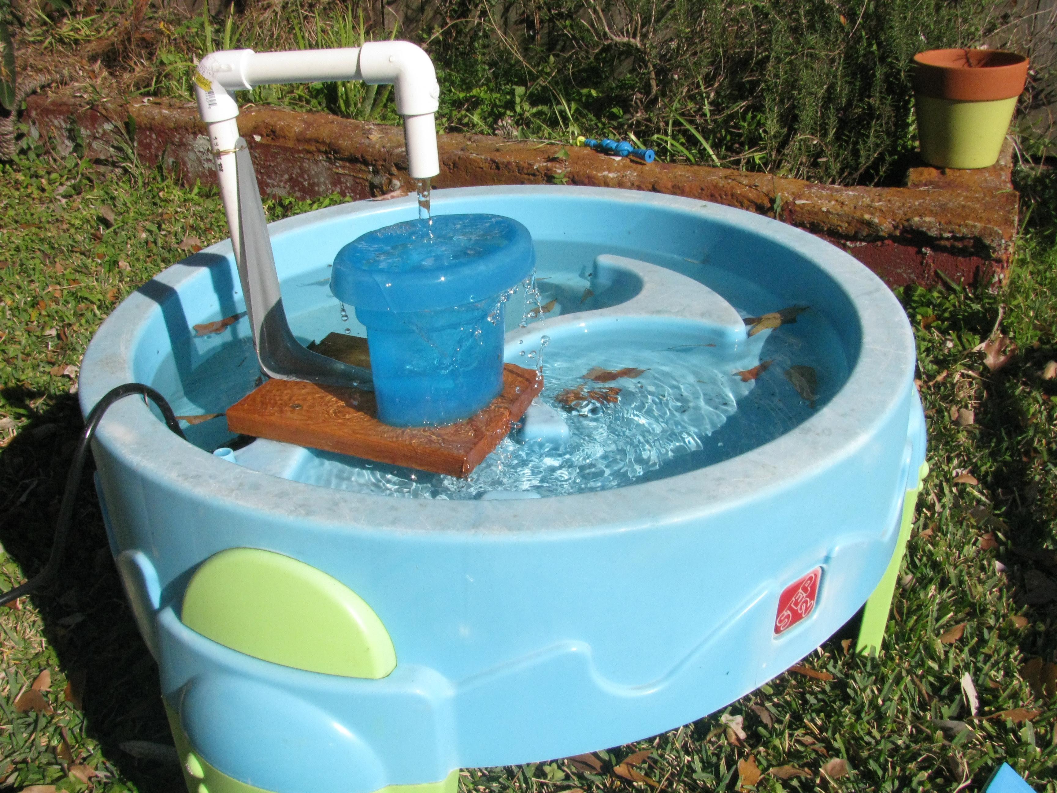 Impressive DIY Water Fountain 3456 x 2592 · 4549 kB · jpeg