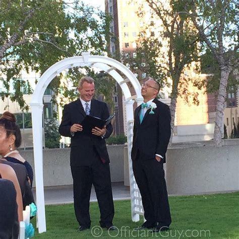 Wedding Officiant Los Angeles   LA Marriage License