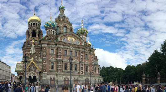 Saint Petersburg diary part one - the first few days of our two-week stay