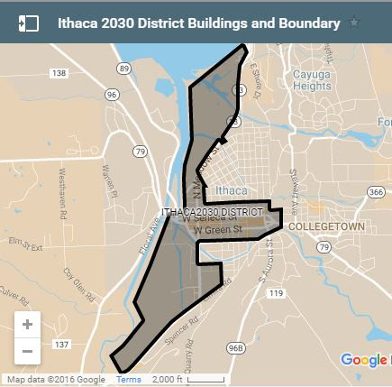 Taitem helps lead the Ithaca 2030 District effort