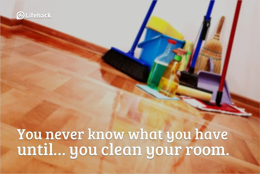 Can't Keep up? 13 Habits that will Keep Your House Clean (Even if You have Kids)